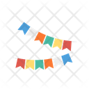 Buntings Small Flag Decoration Icon