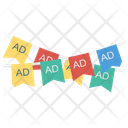 Buntings Ads Marketing Icon