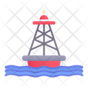 Buoy Sea Floating Icon