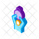 Weight Hand Hold Icon