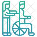 Burden Elderly Care Ageing Society Old Icon