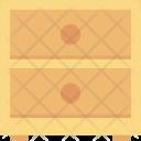 Bureau Cabinet Chest Icon
