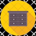 Bureau Chest Drawers Icon