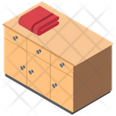 Chest Of Drawers Drawers Cabinet Icon