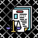 Bureaucracy Law Dictionary Icon