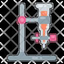 Burette Laboratory Chemistry Icon