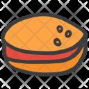 Burger Ham Veggie Icon