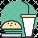Burger Junk Food Icon