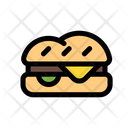 Burger Food Hamburger Icon