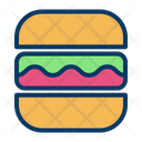 Fast Food Humburger Junk Food Icon