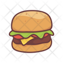 Food Burger Hamburger Icon