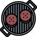 Burger Cutlet Grill Icon