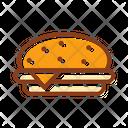 Burger Humburger Fast Food Icon