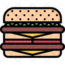 Burger Cheese Cheeseburger Icon