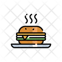 Burger Humberger Hot Burger Icon