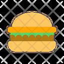 Fast Food Burger Humburger Icon