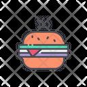 Burger Hot Burger Fastfood Icon
