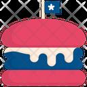 Burger Food Usa Icon