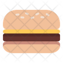 Burger Tasty Hamburger Icon