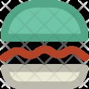 Burger Hamburger Fast Icon