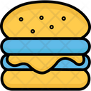 Burger Cheeseburger Fast Food Icon