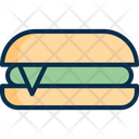 Burger Fastfood Sandwitch Icon