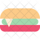 Burger Fastfood Sandwitch Icon