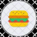 Burger Fast Food Junk Food Icon