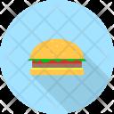 Burger Restaurant Concept Icon