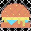 Iburger Burger Hamburger Icon
