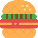 Burger Meat Snack Icon