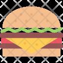 Hamburger Burger Icon