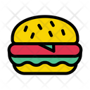 Fastfood Burger Meal Icon