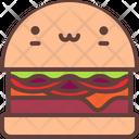 Burger Cheeseburger Food Icon