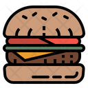 Hamburger Bun Burger Icon