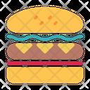 Sandwich Burguer Food Icon