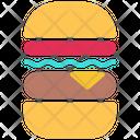 Burguer Food Hamburguer Icon