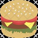 Burger Hamburger Bun Icon