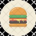 Burger Hamburger Bread Icon