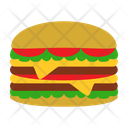 Burger Meal Food Icon