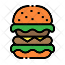 Burger Ham Cheese Icon
