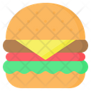 Burger Hamburger Sandwich Icon