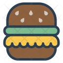 Burger Food Eat Icon