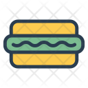 Burger Snack Foods Icon