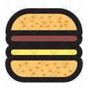 Burger Hamburger Fast Food Icon
