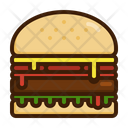 Burger Meat Beef Icon