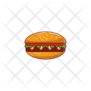 Burger Fastfood Spicy Icon