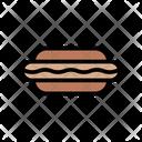 Hotdogs Barbecue Fastfood Icon