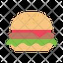 Burger Fastfood Italian Icon