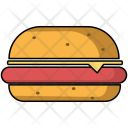 Burger Hamburger Snack Icon